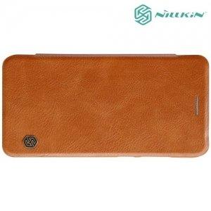 Nillkin Qin Series чехол книжка для Huawei P10 Lite - Коричневый