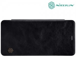 Nillkin Qin Series чехол книжка для Samsung Galaxy A8 2018 - Черный