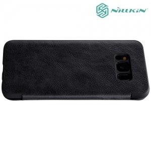 Nillkin Qin Series чехол книжка для Samsung Galaxy S8 - Черный