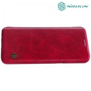 Nillkin Qin Series чехол книжка для Samsung Galaxy S8 - Красный