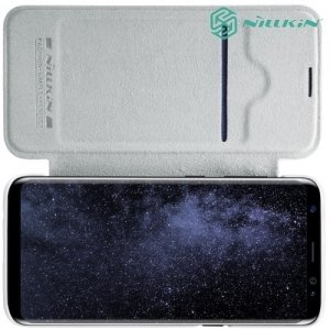 Nillkin Qin Series чехол книжка для Samsung Galaxy S8 Plus - Белый