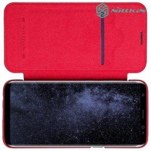 Nillkin Qin Series чехол книжка для Samsung Galaxy S8 Plus - Красный