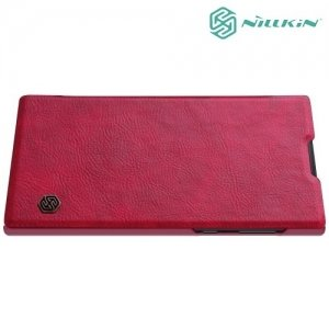 Nillkin Qin Series чехол книжка для Sony Xperia L1 - Красный