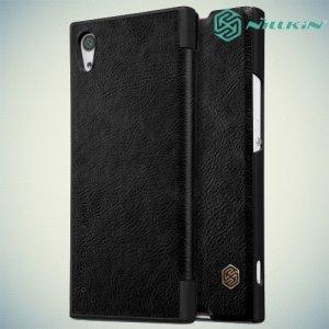 Nillkin Qin Series чехол книжка для Sony Xperia XA1 - Черный