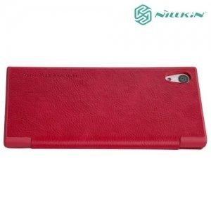 Nillkin Qin Series чехол книжка для Sony Xperia XA1 - Красный