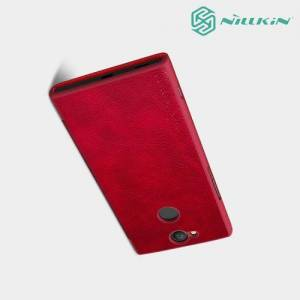 Nillkin Qin Series чехол книжка для Sony Xperia XA2 - Красный
