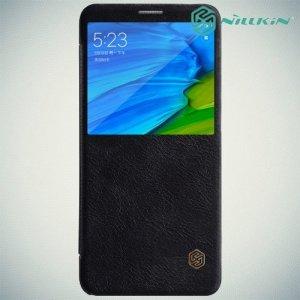 Nillkin Qin Series чехол книжка для Xiaomi Redmi Note 5 / 5 Pro - Черный