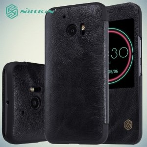 Nillkin Qin Series чехол книжка для HTC 10 / 10 Lifestyle - Черный