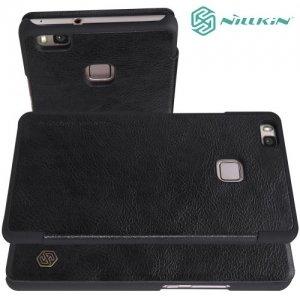 Nillkin Qin Series чехол книжка для Huawei P9 lite - Черный