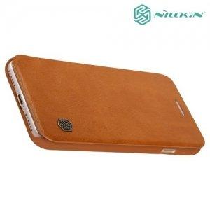 Nillkin Qin Series чехол книжка для iPhone 8/7 - Коричневый