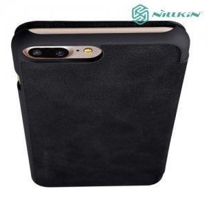 Nillkin Qin Series чехол книжка для iPhone 8 Plus / 7 Plus - Черный