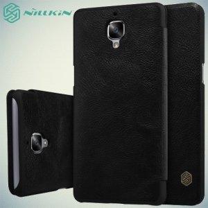 Nillkin Qin Series чехол книжка для OnePlus 3 - Черный