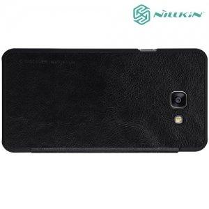 Nillkin Qin Series чехол книжка для Samsung Galaxy A7 2016 SM-A710F - Черный