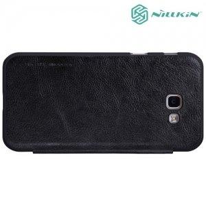 Nillkin Qin Series чехол книжка для Samsung Galaxy A7 2017 SM-A720F - Черный