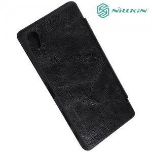 Nillkin Qin Series чехол книжка для Sony Xperia X - Черный