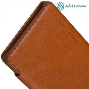 Nillkin Qin Series чехол книжка для Sony Xperia XA - Коричневый