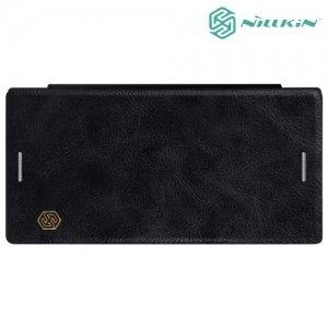 Nillkin Qin Series чехол книжка для Sony Xperia XZ / XZs - Черный