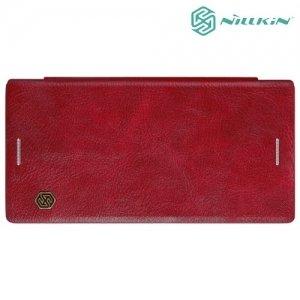 Nillkin Qin Series чехол книжка для Sony Xperia XZ / XZs - Красный
