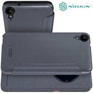 Nillkin с умным окном чехол книжка для HTC Desire 825 - Sparkle Case Серый