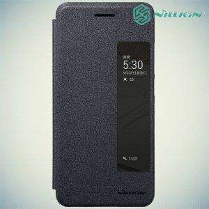 Nillkin с умным окном чехол книжка для Huawei P10 - Sparkle Case Серый