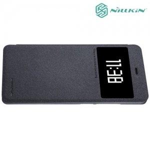 Nillkin с умным окном чехол книжка для Xiaomi Mi 5s - Sparkle Case Серый