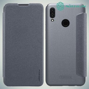 Nillkin Sparkle флип чехол книжка для Huawei Honor 10 Lite - Серый