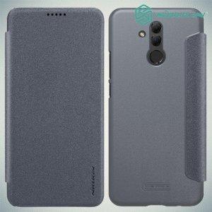 Nillkin Sparkle флип чехол книжка для Huawei Mate 20 lite - Серый