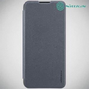 Nillkin Sparkle флип чехол книжка для Huawei P Smart 2019 / Honor 10 Lite - Серый