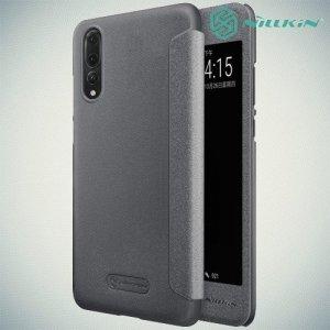 Nillkin Sparkle флип чехол книжка для Huawei P20 Pro - Серый