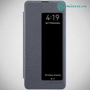 Nillkin Sparkle флип чехол книжка для Huawei P30 Pro - Серый