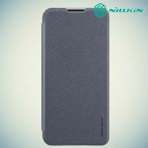 Nillkin Sparkle флип чехол книжка для Huawei Y7 / Y7 Pro 2019 - Серый