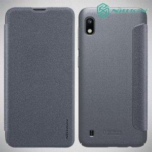 Nillkin Sparkle флип чехол книжка для Samsung Galaxy A10 - Серый