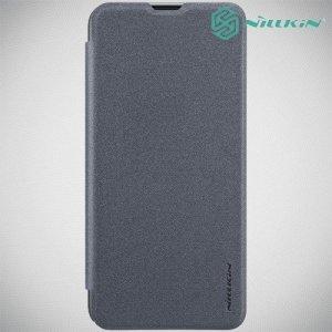 Nillkin Sparkle флип чехол книжка для Samsung Galaxy M20 - Серый