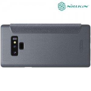 Nillkin Sparkle флип чехол книжка для Samsung Galaxy Note 9 - Серый