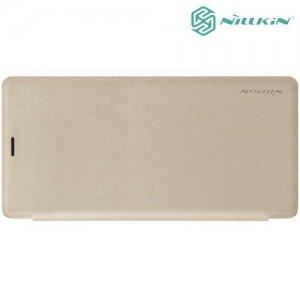 Nillkin Sparkle флип чехол книжка для Samsung Galaxy Note 9 - Золотой