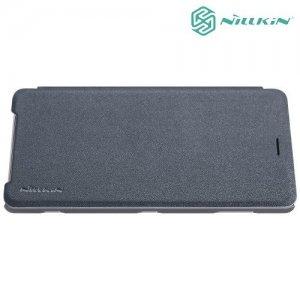 Nillkin Sparkle флип чехол книжка для Sony Xperia XZ2 - Серый
