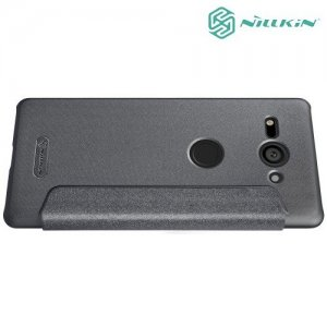 Nillkin Sparkle флип чехол книжка для Sony Xperia XZ2 Compact - Серый