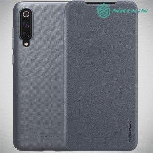 Nillkin Sparkle флип чехол книжка для Xiaomi Mi 9 / Mi 9 Explore - Серый