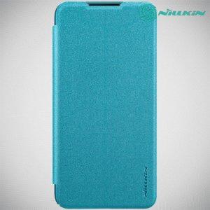 Nillkin Sparkle флип чехол книжка для Xiaomi Mi 9 lite - Бирюзовый