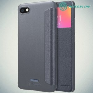 Nillkin Sparkle флип чехол книжка для Xiaomi Redmi 6a - Серый