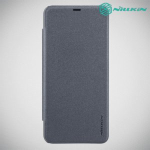Nillkin Sparkle флип чехол книжка для Xiaomi Redmi Note 8 Pro - Серый