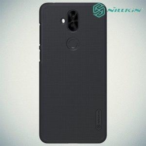 NILLKIN Super Frosted Shield Клип кейс накладка для Asus Zenfone 5 Lite ZC600KL - Черный