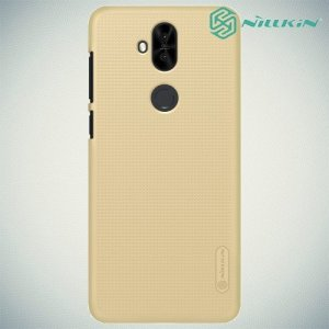 NILLKIN Super Frosted Shield Клип кейс накладка для Asus Zenfone 5 Lite ZC600KL - Золотой