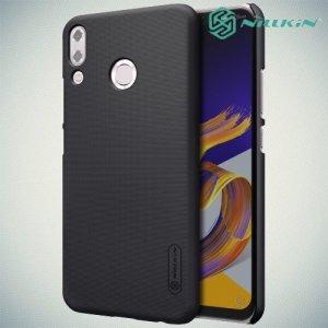 NILLKIN Super Frosted Shield Клип кейс накладка для Asus Zenfone 5Z ZS620KL / 5 ZE620KL - Черный
