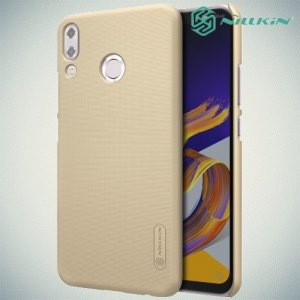 NILLKIN Super Frosted Shield Клип кейс накладка для Asus Zenfone 5Z ZS620KL / 5 ZE620KL - Золотой