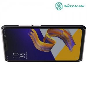 NILLKIN Super Frosted Shield Клип кейс накладка для Asus Zenfone Max M2 ZB633KL - Черный