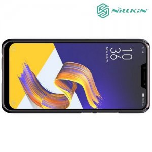 NILLKIN Super Frosted Shield Клип кейс накладка для Asus Zenfone Max Pro M2 ZB631KL - Черный