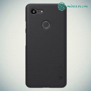 NILLKIN Super Frosted Shield Клип кейс накладка для Google Pixel 3 - Черный