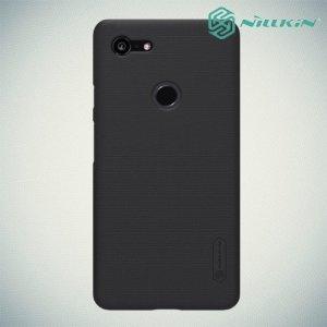 NILLKIN Super Frosted Shield Клип кейс накладка для Google Pixel 3 XL - Черный