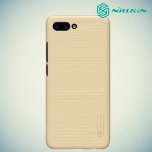 NILLKIN Super Frosted Shield Клип кейс накладка для Huawei Honor 10 - Золотой